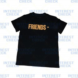 Vlone friends black orange tee