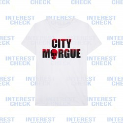 Vlone city morgue tee white